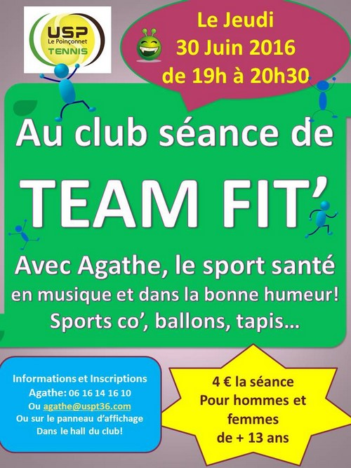 affiche team fit du 30 juin 2016 (Copier)